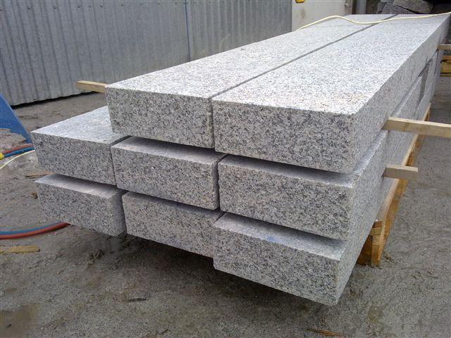 granit palisaden granitpalisade 100x20x8 cm ges gt geflammt jetzt ansehen ebay. Black Bedroom Furniture Sets. Home Design Ideas